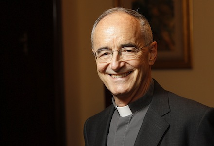 Jesuit Father Czerny, official at Pontifical Council for Justice and Peace, pictured in Rome